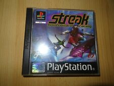 Streak Hoverboard Racing PlayStation  1 PS1 Game -pal
