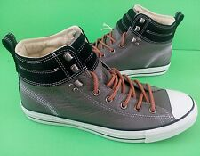 CONVERSE ALL STAR CT HIKER 2 HI ATHLETIC SNEAKERS LEATHER GRAY MEN SIZE 11.5