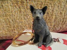 AUSTRALIAN CATTLE DOG BLUE   ~ KEY CHAIN ~ GREAT GIFT ITEM