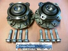 2x Wheel Bearing Set+Hub+Abs-ring Front Axle BMW 5er Touring E39
