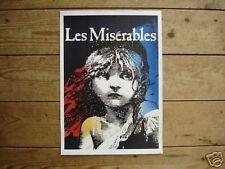 Les Miserables Fantastic Tour Theatre Poster