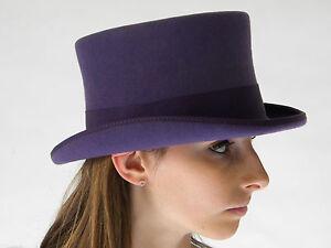 New Top Hat Deep Purple English Gentleman's Ladies Arty Size XS S M L XL