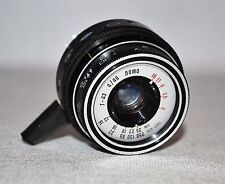 NEAR EXCELLENT! RUSSIAN USSR BLACK LOMO T-43 LENS FROM SMENA SYMBOL CAMERA f4/40