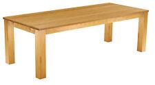 Esstisch Esszimmer Tisch Holz Pinie massiv 240x100 / 10-14 Personen Honig B-Ware