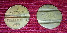 Gettone Telefonico Sip STIPEL Teti Fabbrica ESM Num 7209 Cabina Telefono Vintage