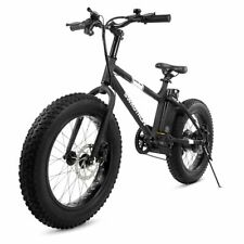 "47a070dcb16 Swagtron EB-6 E-Bike 350W Motor Power Assist 4"" Tires 20"""