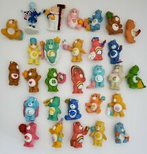 Vintage Care Bears Lot of 29 Figures Good Luck Bear Mini PVC Miniature Kenner 2""