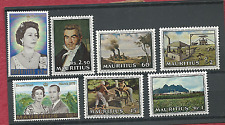 MAURITIUS 11 COMPLETE SETS MNH 1953 TO 1984 FREE WORLD SHIPPING