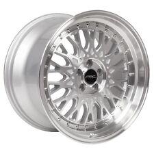 17x9.5 ARC AR1 5x100 +20 Silver Rims Fits Vw Jetta Golf Passat Beetle Gti