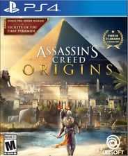 Assassin' s Creed: Origins for Sony PS4- BRAND NEW-NEVER OPENED-SEALED CLOSED!!!