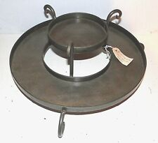 2-Tier Metal Table Centerpiece Holder-Use for Candles Faux Fruit Veggie NEW