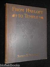 ARTHUR H PATTERSON - From Hayloft to Temple - 1903-1st, Great Yarmouth Methodism