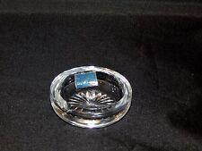 Webb Glass England Small Round Ashtray