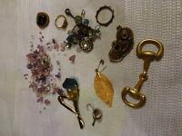 pour créations diverses.....lot de petits bijoux . pour créations  bijoux