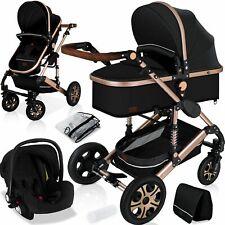 RETOURE Loops 3 in 1 Kombi-Kinderwagen Buggy Reisebuggy inkl. Auto- Babyschale