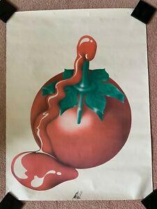 MICHAEL ENGLISH Tomato Ketchup Bottle Original Signed Print