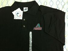 NEW Vintage 90s Arizona Diamondbacks Polo Embroidered Black DEADSTOCK NWT Large