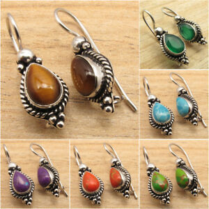 925 Silver Plated Wholesale Price OXIDIZED Earrings Made In India Gift