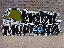 "Metal Mulisha Aluminum Display 17 inch , 8 inch ""Iconoclast ""  -- Free Shipping"