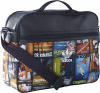 Adidas Unisex Airliner Shoulder Messenger Bag Retro Classic Bag Black