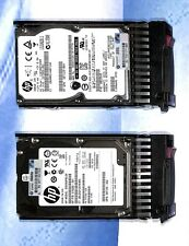 "LOT 2X 300GB 10K SAS 2.5"" SFF Hard Drive Tray 507284-001 507129-003 507129-004"