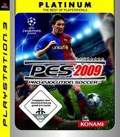 PS3 Spiel - Pro Evolution Soccer 2009 / PES 09 [Platinum] DE/EN mit OVP