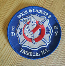 FDNY Hook & Ladder 8 Patch - Ghostbusters Tribeca-