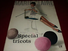 REVUE MARIE CLAIRE N°76 1961 spécial tricot  Umberto d'Italie  Mode Fashion