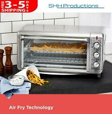 1500 Watt Air Fryer / Toaster Oven / Broil Large Oversized Stainless Steel Pizza