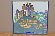 "THE BEATLES ""Yellow Submarine"" 7½ ips Reel to Reel Tape -Leader/Foiled- *VG*"