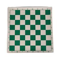 Scacchiera 34.5x34.5cm per giochi educativi per bambini colore verde e bianco  C
