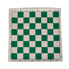 34.5cm x 34.5cm chess board for children's educational games green&white color_U