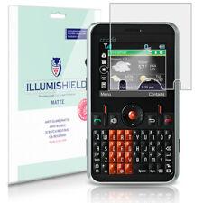 iLlumiShield Anti-Glare Screen Protector 3x for Zte A310 (Cricket Msgm8 Ii)