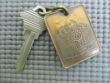 Vintage MAPES HOTEL Reno Key & Fob ID Tag