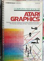 VERY RARE book, Compute!'s First Book of Atari Graphics for Atari Computers