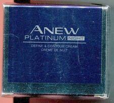(100ml=76€) Avon - Anew Platinum Define und Contour Nachtcreme