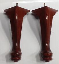 Queen Anne Plastic Furniture Feet Chair Sofa 2 Legs 10