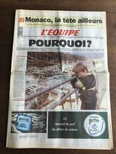 Journal l'Equipe - 7 Mai 1992 - 47 eme année - n 14307