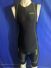 Zoot Cycling Padded Triathlon Skinsuit Singlet, Mens Large