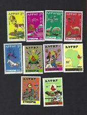 Ethiopia sc#869-78 (1978) Complete  MNH
