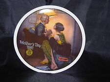 "1981 N. Rockwell Mothers Day Knowles Collectors Plate ""After the Party "" #18293G"