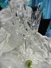 New in Box 2 Waterford Crystal Wine Glasses, Made in Slovenia