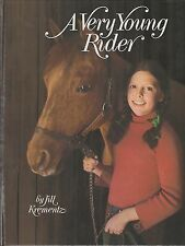 New A Very Young Rider by Jill Krementz B&W photos A Young Girl's Love of Horses