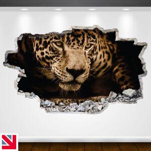 JAGUAR BIG CAT ANIMAL LEOPARD Wall Sticker Decal Vinyl Art A5