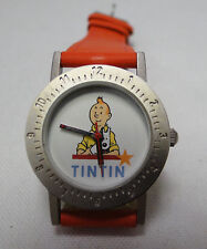 Tintin and Snowy watch ladies/child in decorative tin Year 2000 #3