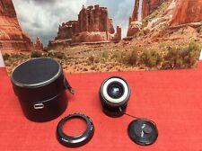 Minolta MD Mount Rokkor-X 28mm 1:2.8 Prime Lens w/Hood & Case F2.8 f/2.8 EX+