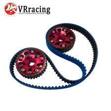 H-NBR Timing Belt Blue+Cam Gear Red FOR B16A 99-00 Civic Si 94-97 Del Sol VTEC