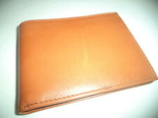 Buxton Esquire Genuine Leather Billfold Wallet, Tan