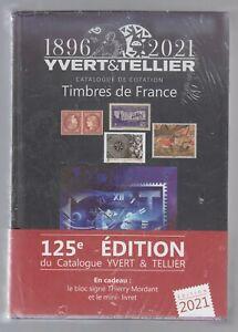 France - Catalogue de cotation des timbres de France Yvert et Tellier 2021 neuf
