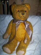 EARLY GOLD TEDDY BEAR
